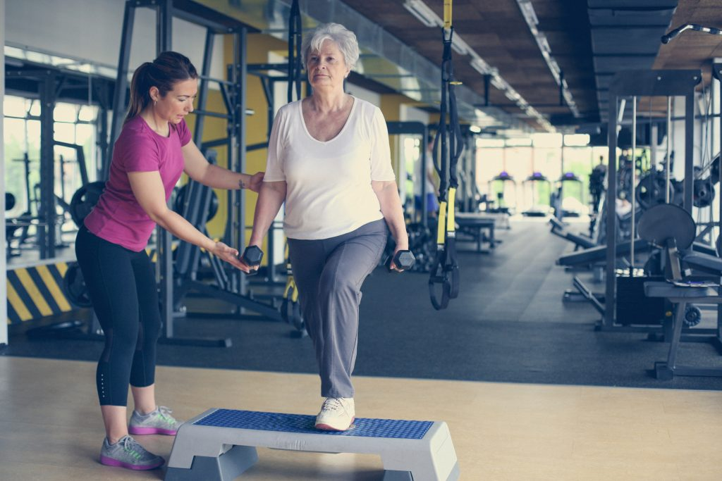 Seniors Personal Training Toronto.